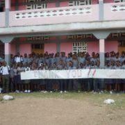 School thank you banner